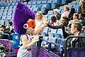 EuroBasket 2017 - Mascot Slam Dunk and fans 2.jpg