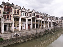 Dixi Road in Chikan, Kaiping