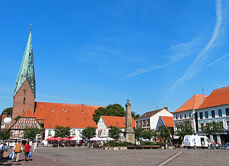 Eutin - Image: Eutin Marktplatz
