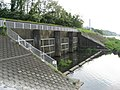 Exit of flood way of Misawa River in Inagi taken in 2009.jpg