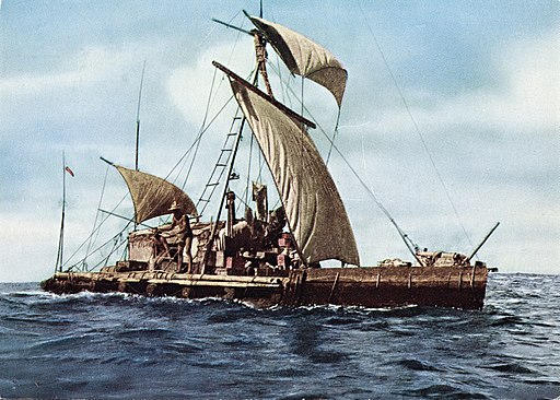 Expedition Kon-Tiki 1947. Across the Pacific. (8765728430)