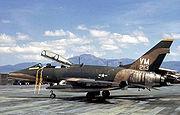 F-100F 352TFS 35TFW PhanRang 1971