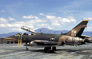 Pacific Air Forces - North American F-100F-20-NA Super Sabre, AF Ser. No. 58-1213 of the 352d Fighter Squadron at Phan Rang Air Base, South Vietnam, 1971