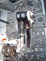 F-4N cockpit simulator PCAM throttle.JPG