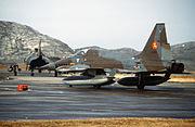 F-5A RNoAF Bodo 1982