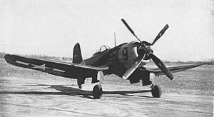 Goodyear F2G Corsair - A U.S. Navy F2G-1 in 1945.