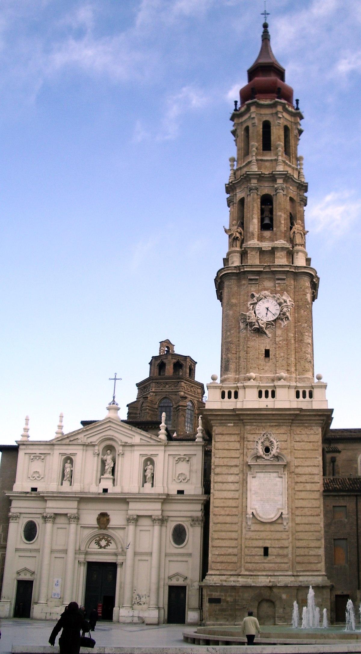 Cattedrale del Salvatore (Saragozza) - Wikipedia