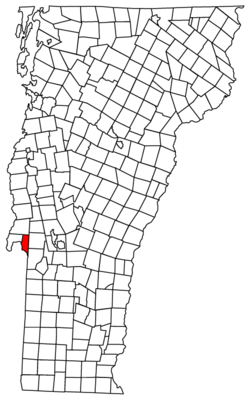 Located in Rutland County, Vermont