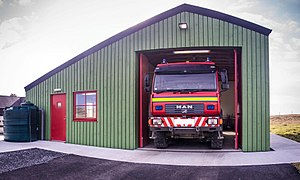 Scottish Fire and Rescue Service - Fair Isles community fire station