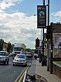 Fairtrade City Lamppost Banner - geograph.org.uk - 840759.jpg