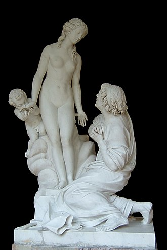 Gynoid - Étienne Maurice Falconet: Pygmalion et Galatée (1763). Although not robotic, Galatea's inorganic origin has led to comparisons with gynoids.