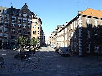 Strædet - Farvergade viewed from Regnbuepladsen