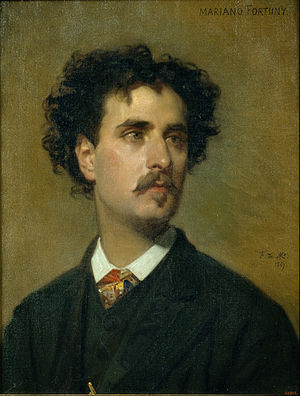 Marià Fortuny - Fortuny in 1867, by Federico de Madrazo
