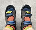 Feet with socks in cycling sandals.jpg