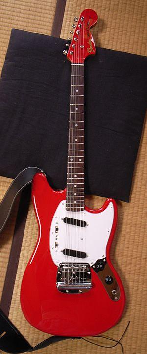 Fender Mustang - A Japanese Mustang.
