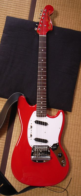 Fender Mustang - A Japanese Mustang.