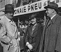 Ferdinand Porsche, Eliška Junková, Hans Ledwinka (Masarykův okruh, Brno 1935).jpg