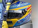 Fernando Alonso 2006 helmet front-left 2017 Museo Fernando Alonso.jpg