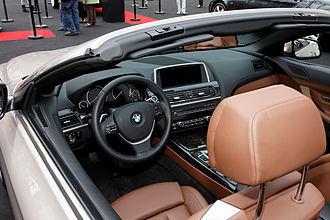 BMW 6 Series (F06/F12/F13) - Interior