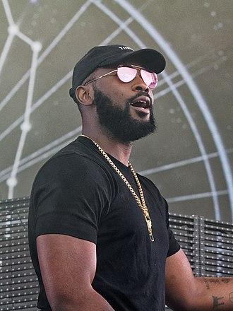 Damso - Damso performing at Vieilles Charrues Festival on July 21, 2018