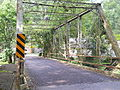 Fetter's Mill Village, Bryn Athyn, Iron Bridge 05.JPG