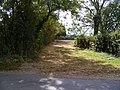 Field Entrance off Reepham Road - geograph.org.uk - 1521277.jpg