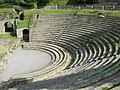 Fiesole, area archeologica, teatro 03.JPG