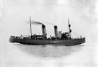 Sampo (1898 icebreaker) - Image: Finnish icebreaker Sampo (1898)