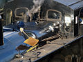 Fire irons on top of 47324 East Lancashire Railway.jpg