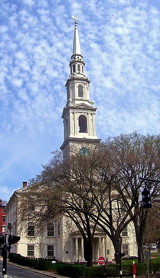 Baptists - The First Baptist Church in America located in Providence, Rhode Island. Baptists in the U.S. number 50 million people and constitute roughly one-third of American Protestants.