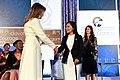 First Lady Melania Trump Presents the International Women of Courage Award to Cindy Arlette Contreras Bautista of Peru (33682207256).jpg