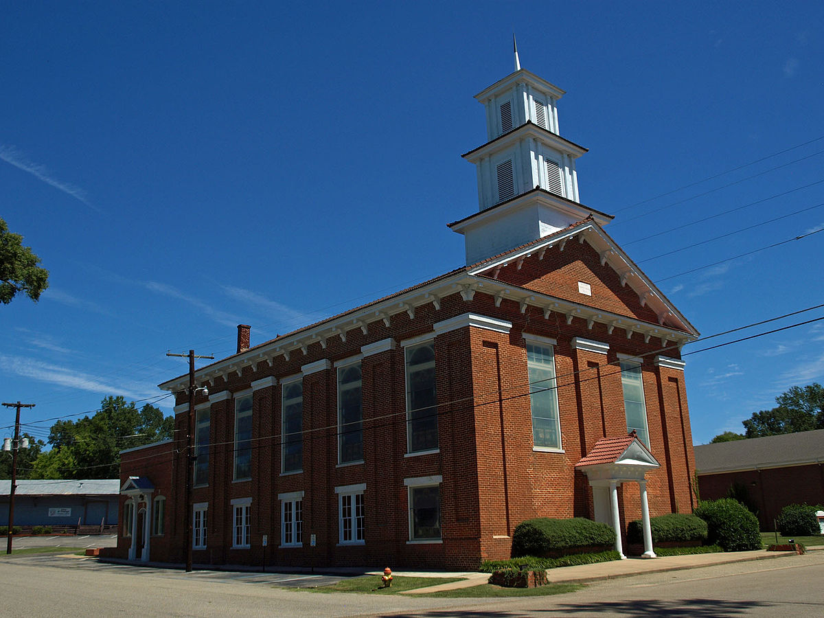 First United Methodist Church Wetumpka Alabama Wikipedia