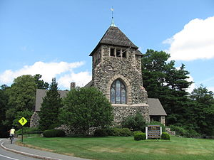National Register of Historic Places listings in Weston, Massachusetts - Image: First Parish Church, Weston MA