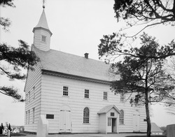 Undated photo of Old Tennent Church