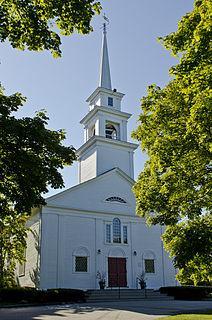 First Trinitarian Congregational Church church building in Massachusetts, United States of America
