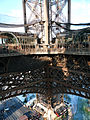 First floor of the Eiffel Tower, Paris 19 December 2009.jpg