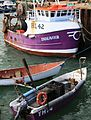 Fishing boats, Torquay Harbour, Devon. (3591943217).jpg