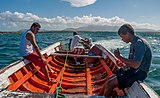 Fishing in El Manglillo Bay, Margarita Island 01.jpg