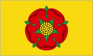 Flag of Lancashire - Image: Flag Of Lancashire