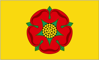 Long live our noble Duke - Lancashire Flag