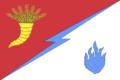 Flag of Izobilnensky rayon (Stavropol krai).png