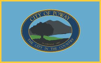 Poway, California - Image: Flag of Poway, California