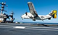 Flickr - Official U.S. Navy Imagery - A C-2A Greyhound lands..jpg