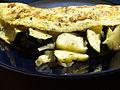 Flickr - cyclonebill - Omelet med squash, ost og estragon.jpg