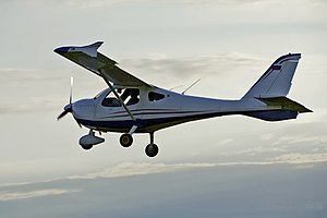 Flight Design MC - Flight Design MC in flight
