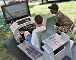 Flight simulator at the 2013 Dundalk Heritage Fair in Maryland.jpg