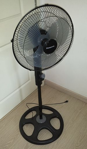 Fan (machine) - A household electric floor fan