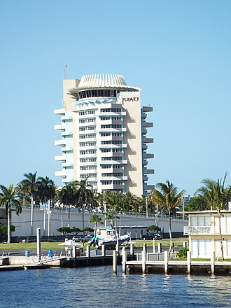 Hyatt - Image: Florida Fort Lauderdale Haytt Hotel by FLW 1957
