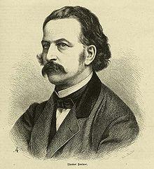 Theodor Fontane, um 1860 (Quelle: Wikimedia)