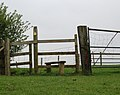 Footpath to Grandborough, near Woodbine Farm (2) - geograph.org.uk - 1256934.jpg